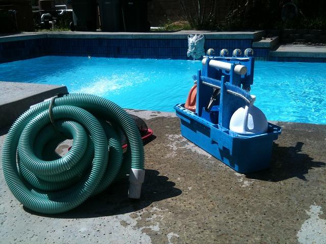pro čistý bazén