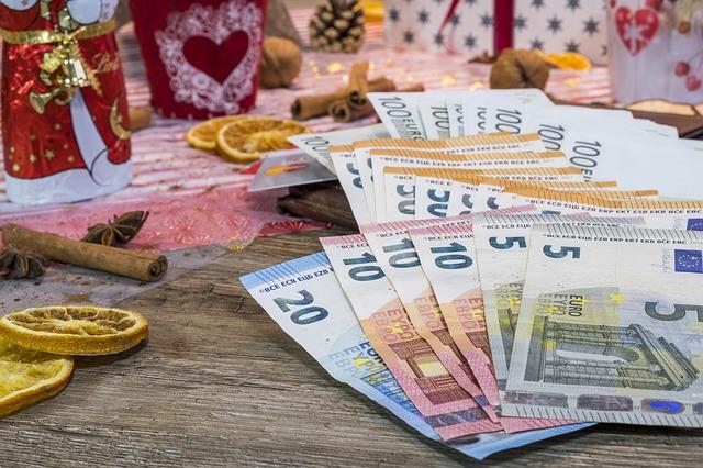 Vánoce a peníze
